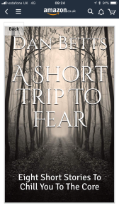 Cover for my e-book of chilling short stories